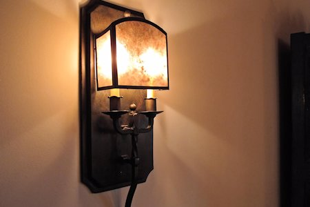 Interior artistic lamp