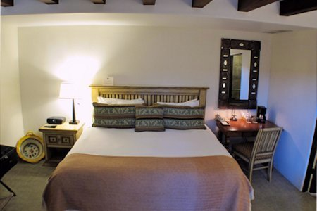 Room #138 interior at the La Posada