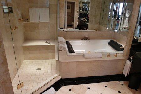 Bathroom in the Park Hyatt Toronto Suite