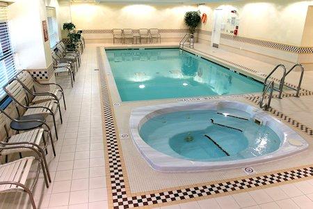 Hotels Pool and Spa Tub
