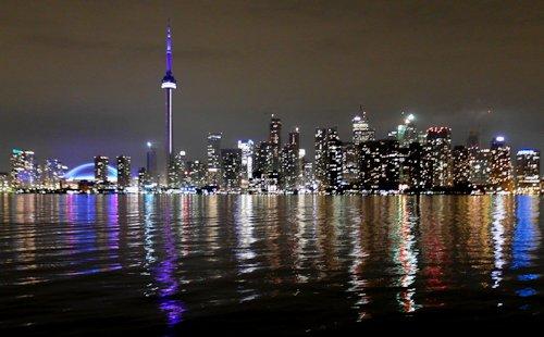 Toronto Skyline Afterdark