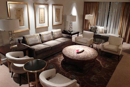 Suite Living Room at Park Hyatt Toronto