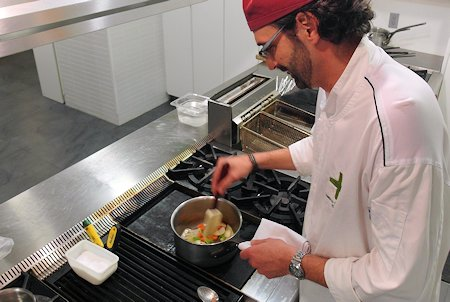 Executive Chef Roberto Fracchioni of Monks Kitchen