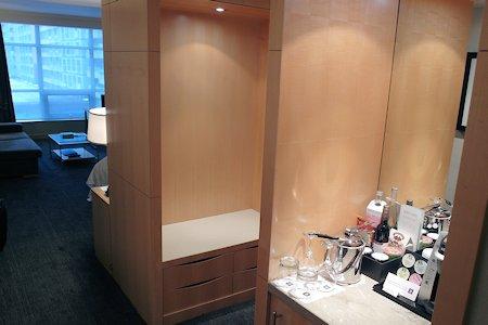 Entrance to guestroom at SoHo Metropolitan Hotel Toronto
