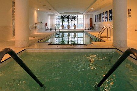 Pool at the SoHo Metropolitan Hotel in Toronto