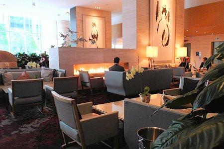 Lobby of the Shangri-La Hotel Toronto