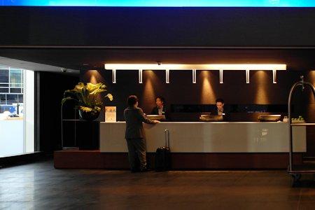 Lobby of the Hotel Le Germain.