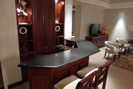 Suite bar in the Park Hyatt Toronto