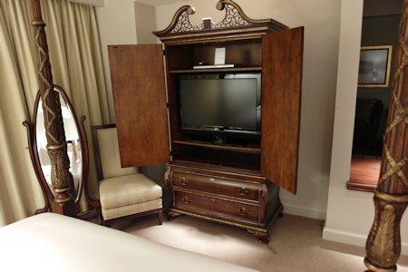 Furniture in suite at the Park Hyatt Hotel in Toronto
