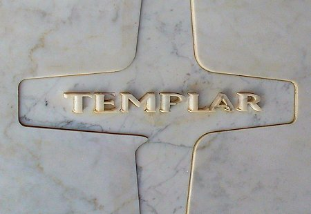 """""""Sign"""" in front of the Templar Hotel in Toronto"""