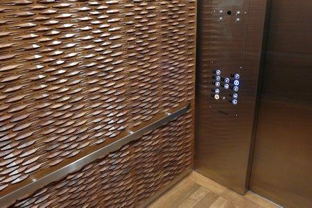 Elevator in the Templar Hotel, Toronto