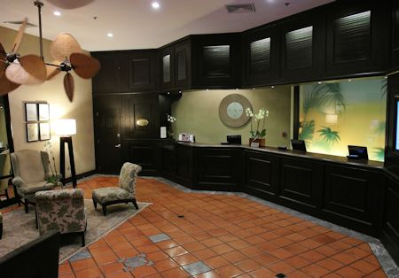 Reception / Check-in area, The Palms Hotel/Spa, Miami / South Beach