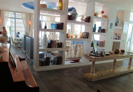 Lobby of the Sense Beach House, South Beach, Miami Florida