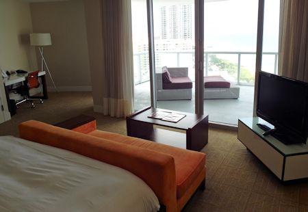 Room #2039 is an Ocean View King. Eden Roc Hotel in Miami Beach, Florida