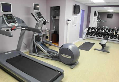 Very small gym. The Surfcomber Hotel Miami | South Beach, Florida