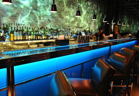 One of several bars.  This one in the Chinese restaurant of the Fontainebleau Hotel, Miami Beach Florida