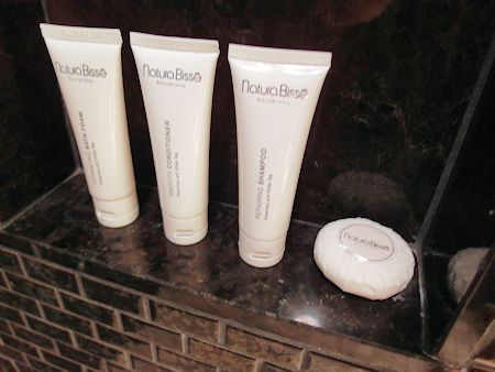 Bath products from Natura Bisse.
