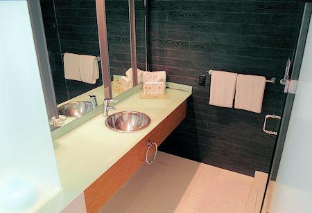 Bathroom at the Sense Beach House, South Beach, Miami Florida