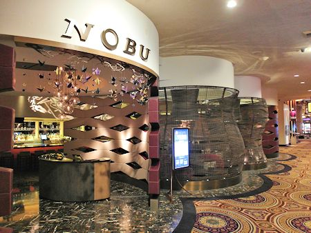 Entrance to the Nobu Restaurant Las Vegas