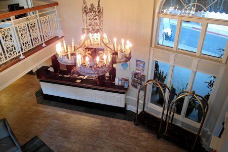 Lobby of Hotel Metropole Avalon CA.