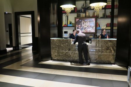Lobby of the Cromwell Hotel