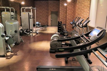Gym at Cromwell Hotel