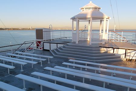 Queen Mary offers a perfect spot for weddings.