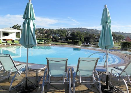 Adult pool at Omni La Costa Resort