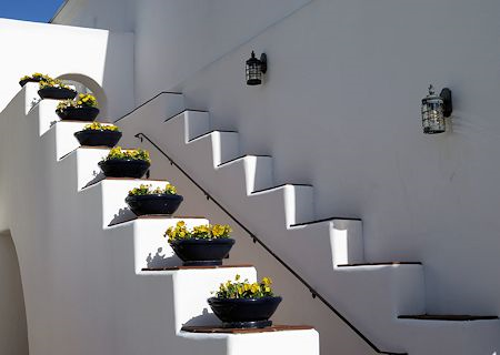 Stairway at Omni La Costa Resort