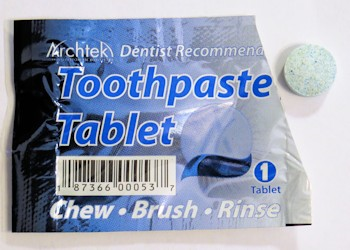Archtek Travelers Toothpaste Tablet