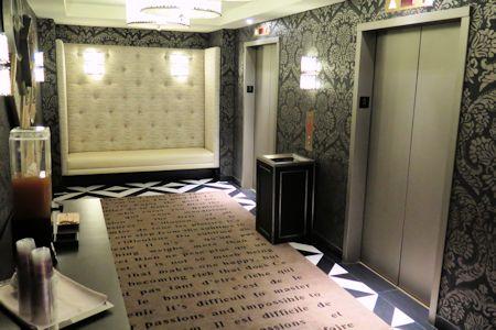 Hallway of Cromwell Hotel