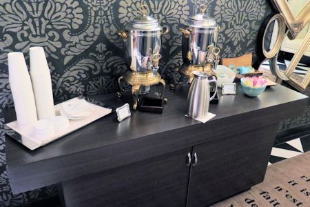 Coffee service available on each floor.