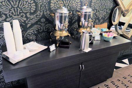 Coffee service available on each floor.