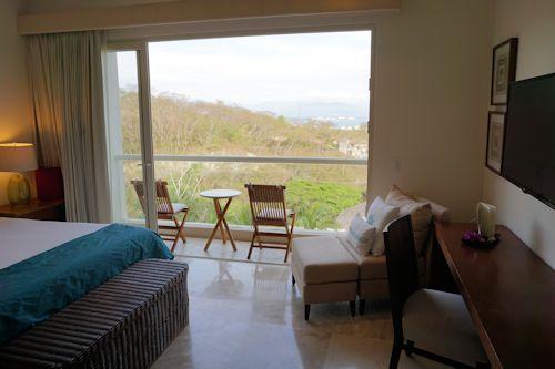 Small balcony off of master bedroom