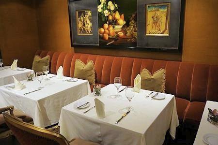 Bacchus Restaurant in Wedgewood Hotel
