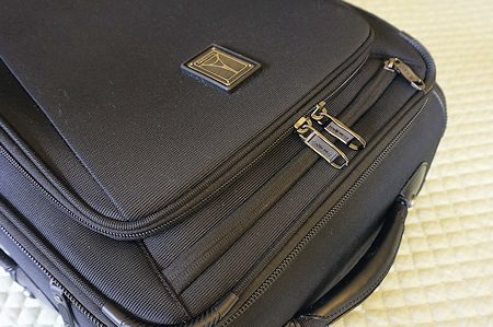 Front pocket access on Travelpro Crew 11 Carry-On