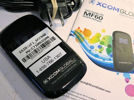 Xcom Global USA Mobile WiFi Hotspot