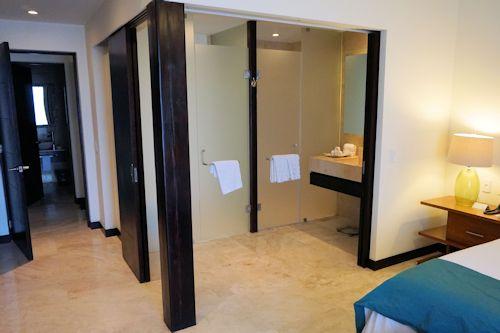 Master bathroom area.