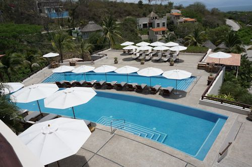 Main pool area of Matlali Hotel / Resort