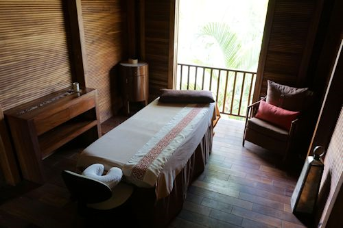 Matlali offers a variety of spa services.