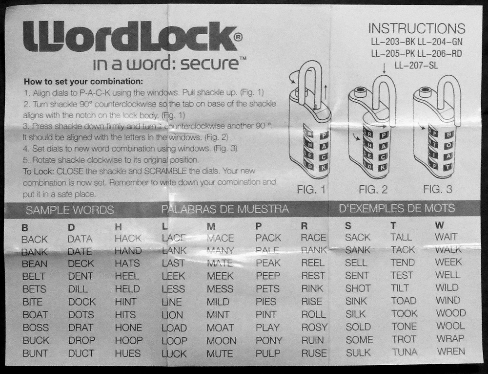 Using A Wordlock Luggage Lock Review Murray On Travel